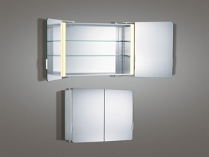Picture of Illuminated Bathroom Mirror Cabinet