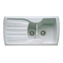 Picture of Franke Calypso 1.5 Bowl Ceramic Sink in Oatmeal - COK651
